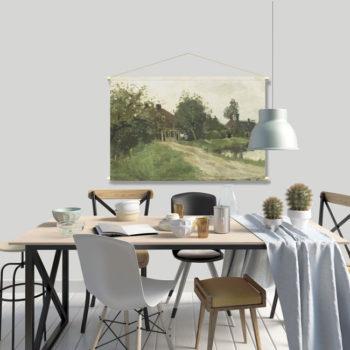 WANDenWOONdeco.nl textielposter PEKE afb 120x80 cm