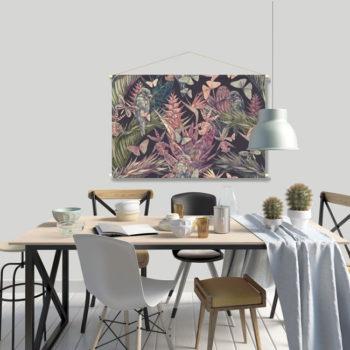 WANDenWOONdeco.nl textielposter PALMIRA afb 120x80 cm