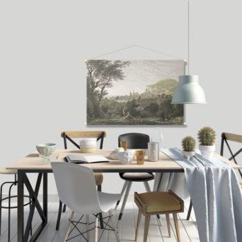 WANDenWOONdeco.nl textielposter PAOLA 120x80 cm