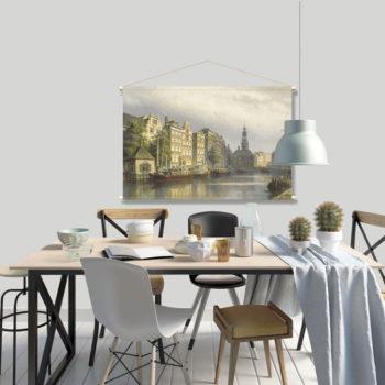 WANDenWOONdeco.nl textielposter PAREL afb 120x80 cm