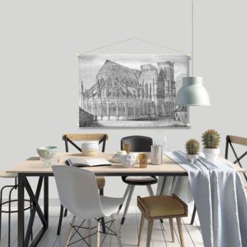 WANDenWOONdeco.nl textielposter PIETERJAN afb 120x80 cm