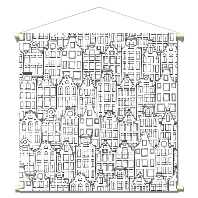 WANDenWOONdeco.nl textielposter-PIETSJE