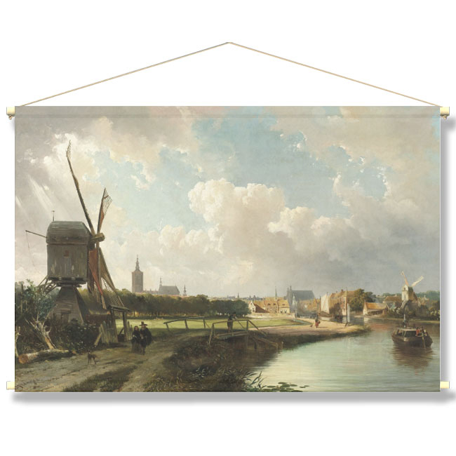 WANDenWOONdeco.nl textielposter-POLLE