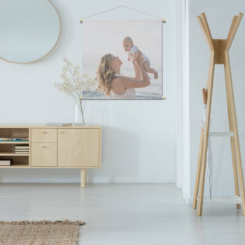 WANDenWOONdeco.nl textielposter Eigen foto