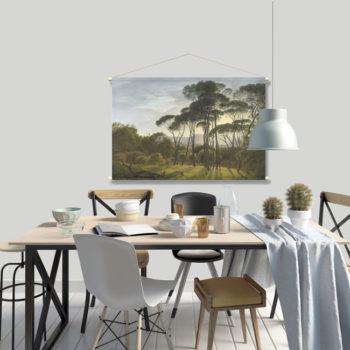 WANDenWOONdeco.nl textielposter PALMO afb 120x80cm