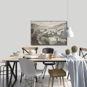 WANDenWOONdeco.nl frame FEDI afb 120x80 cm