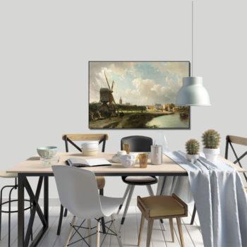 WANDenWOONdeco.nl frame FELKE afb 120x80 cm
