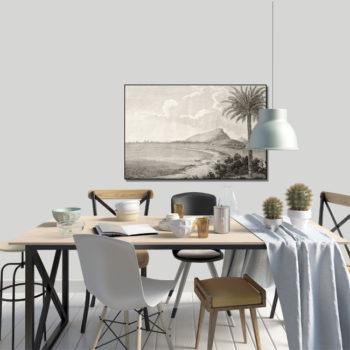 WANDenWOONdeco.nl frame FLINT afb 120x80 cm
