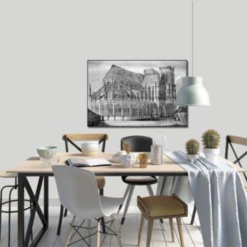 WANDenWOONdeco.nl frame FOSCO afb 120x80 cm