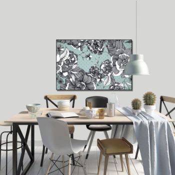 WANDenWOONdeco.nl frame FREDERIQUE afb 120x80 cm
