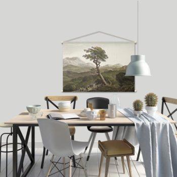 WANDenWOONdeco.nl textielposter PIERO afb 120x80 cm