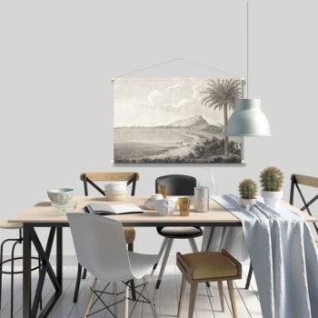 WANDenWOONdeco.nl textielposter PLYM 120x80 cm