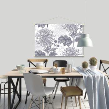 WANDenWOONdeco.nl textielposter PRICILLA afb 120x80 cm