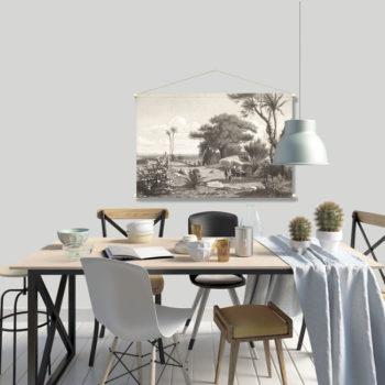WANDenWOONdeco.nl textielposter-PRIMO agfb 120x80 cm