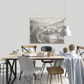 WANDenWOONdeco.nl textielposter PRONTO afb 120x80 cm