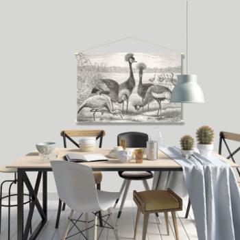 WANDenWOONdeco.nl textielposter PYKE afb 120x80 cm