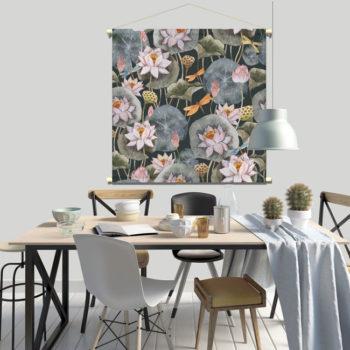 WANDenWOONdeco textielposter PAULUS afb 120x120 cm