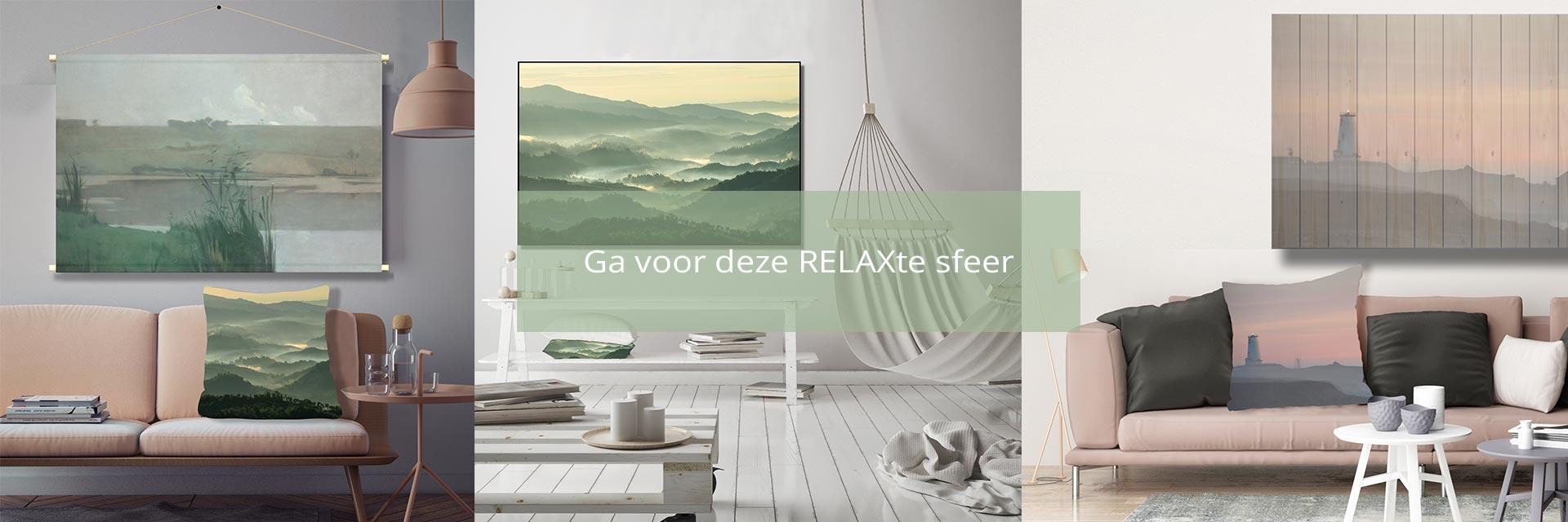 WANDenWOONdeco.nl woondecoratie sfeer RELAX