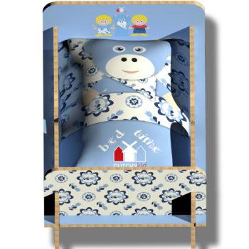 WANDenWOONdeco.nl BEDTIME bedtime met kussen KOEtje