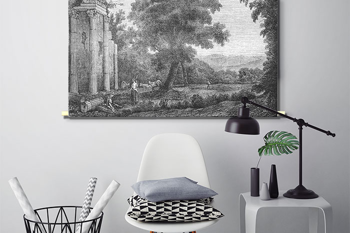 WANDenWOONdeco.nl textielposter-PABE sfeer SKETCH