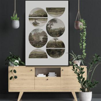 www.wandenwoondeco.nl frame FABIOLO