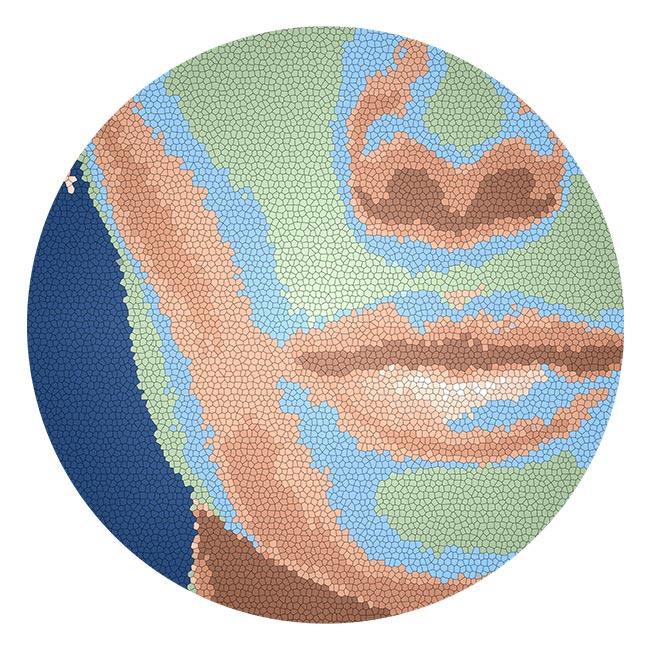 WANDenWOONdeco.nl zelfklevend behang cirkel ZIGGY