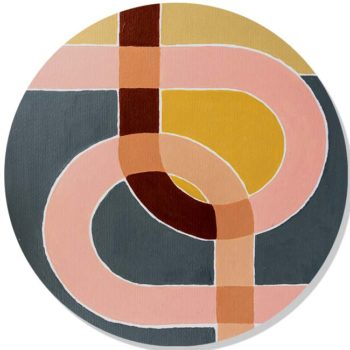 WANDenWOONdeco.nl dibond cirkel INTERFACE Atelier Andrea