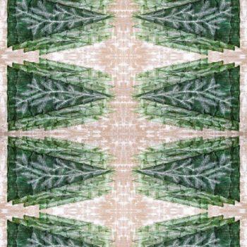 WANDenWOONdeco.nl Atelier Andrea tafelloper kerst XL TREE close up