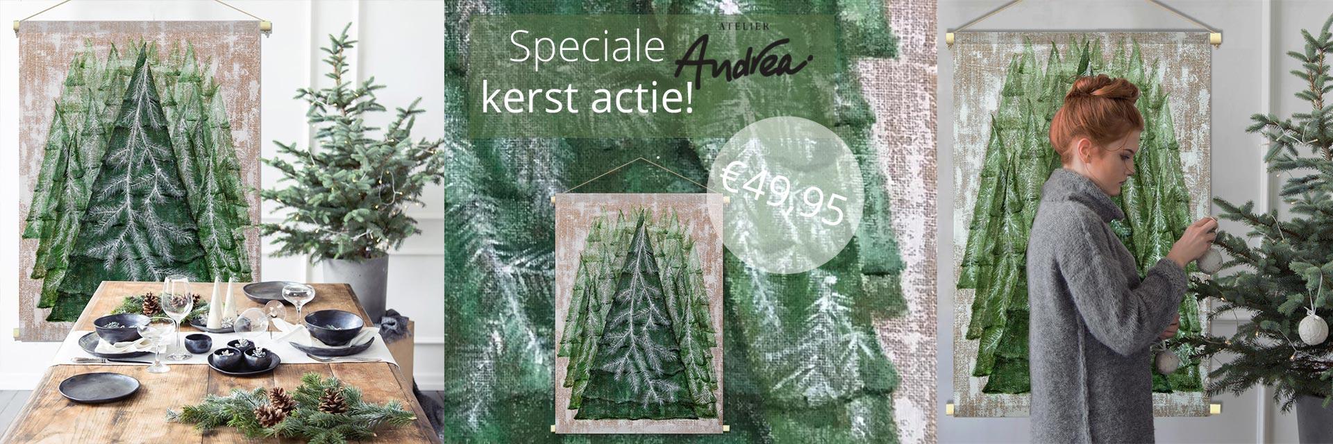 WANDenWOONdeco.nl Atelier Andrea kerst