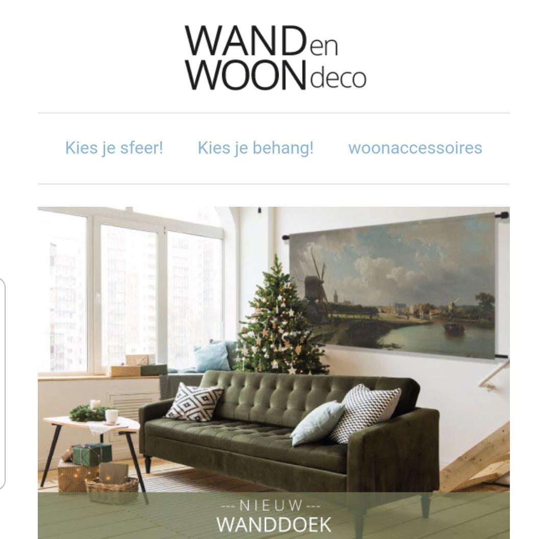 WANDenWOONdeco.nl nieuwsbrief december