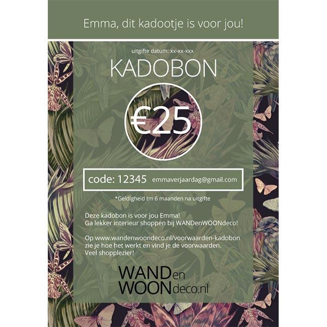 WANDenWOONdeco.nl kadobon