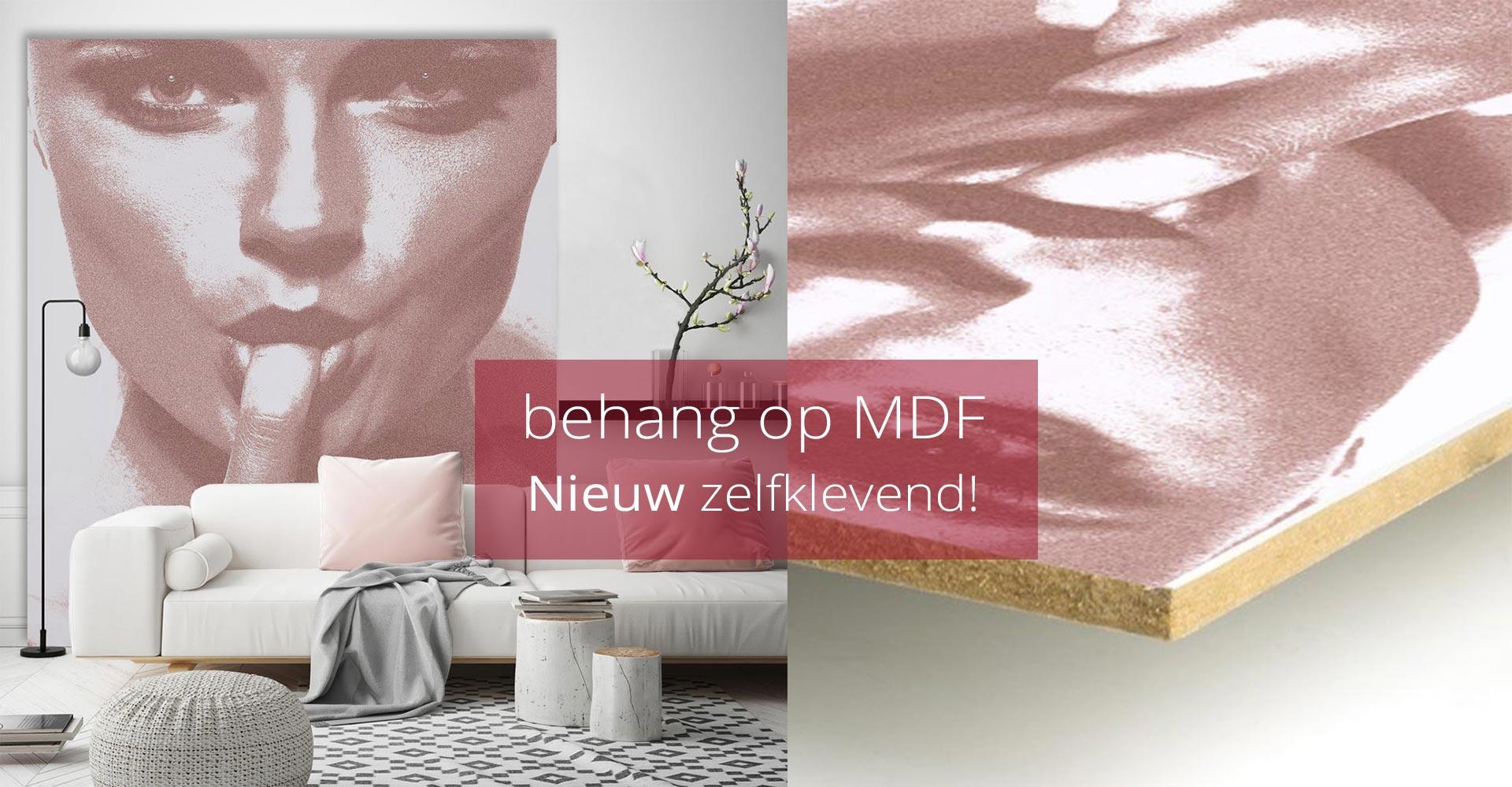 WANDenWOONdeco.nl MDF behangen