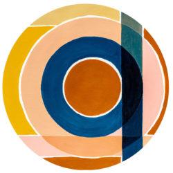 WANDenWOONdeco.nl zelfklevend behang cirkel CONNECTION