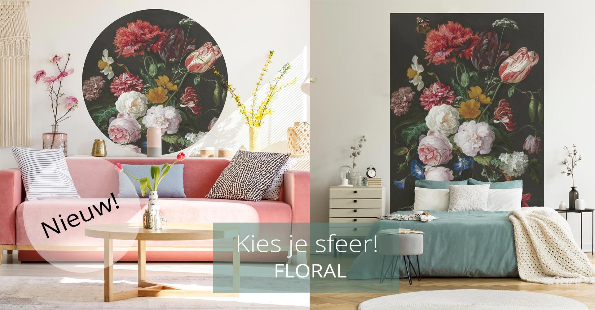 WANDenWOONdeco.nl sfeer FLORAL