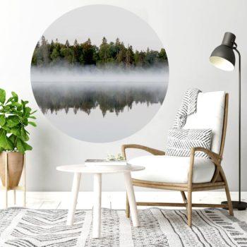 WANDenWOONdeco.nl zelfklevend behang cirkel ZORAN