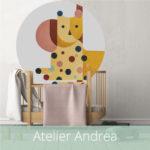 WANDenWOONdeco.nl Atelier Andrea kinderkamer