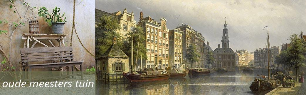 WANDenWOONdeco.nl oude meesters in je tuin