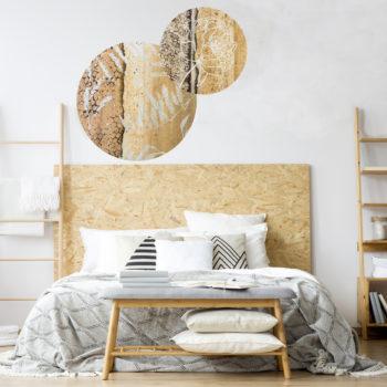 WANDenWOONdeco.nl AtelierAndrea zelfklevend behangcirkels wanddecoratie en woonaccessoires
