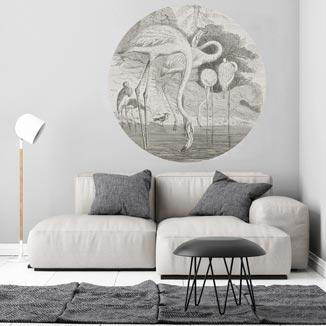 WANDenWOONdeco.nl zelfklevend behangcirkel ZEB
