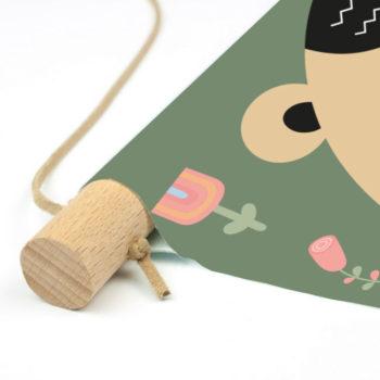 kinderkamer accessoires textielposter PADDY