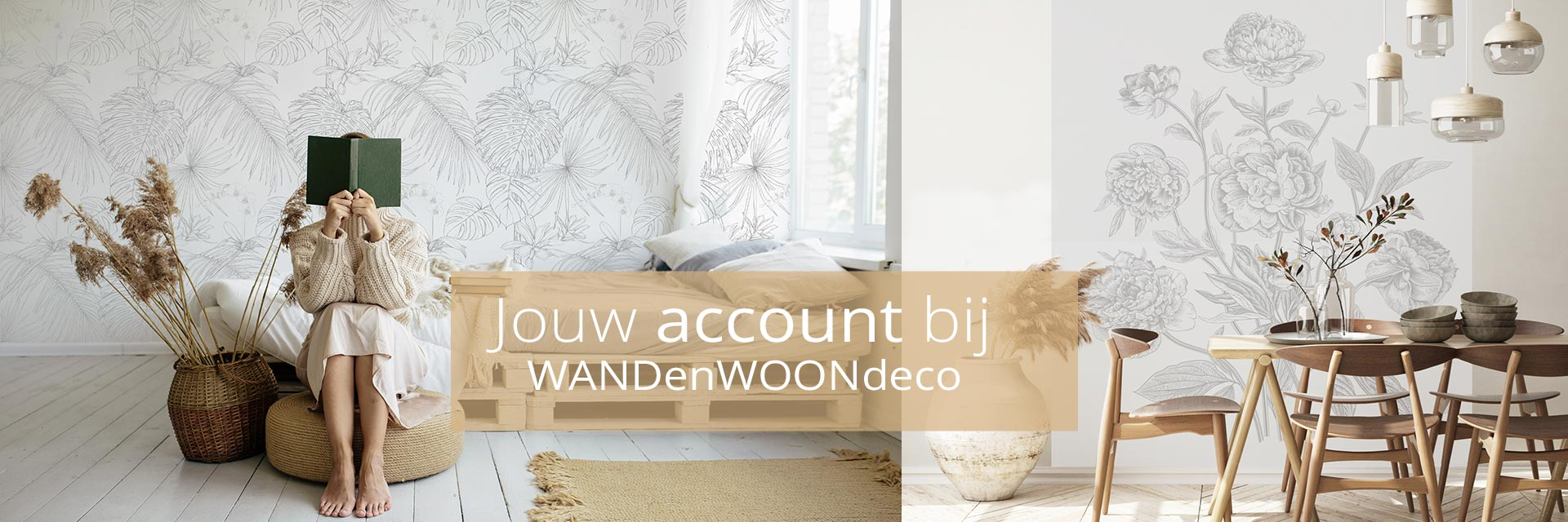 WANDenWOONdeco.nl jouw account