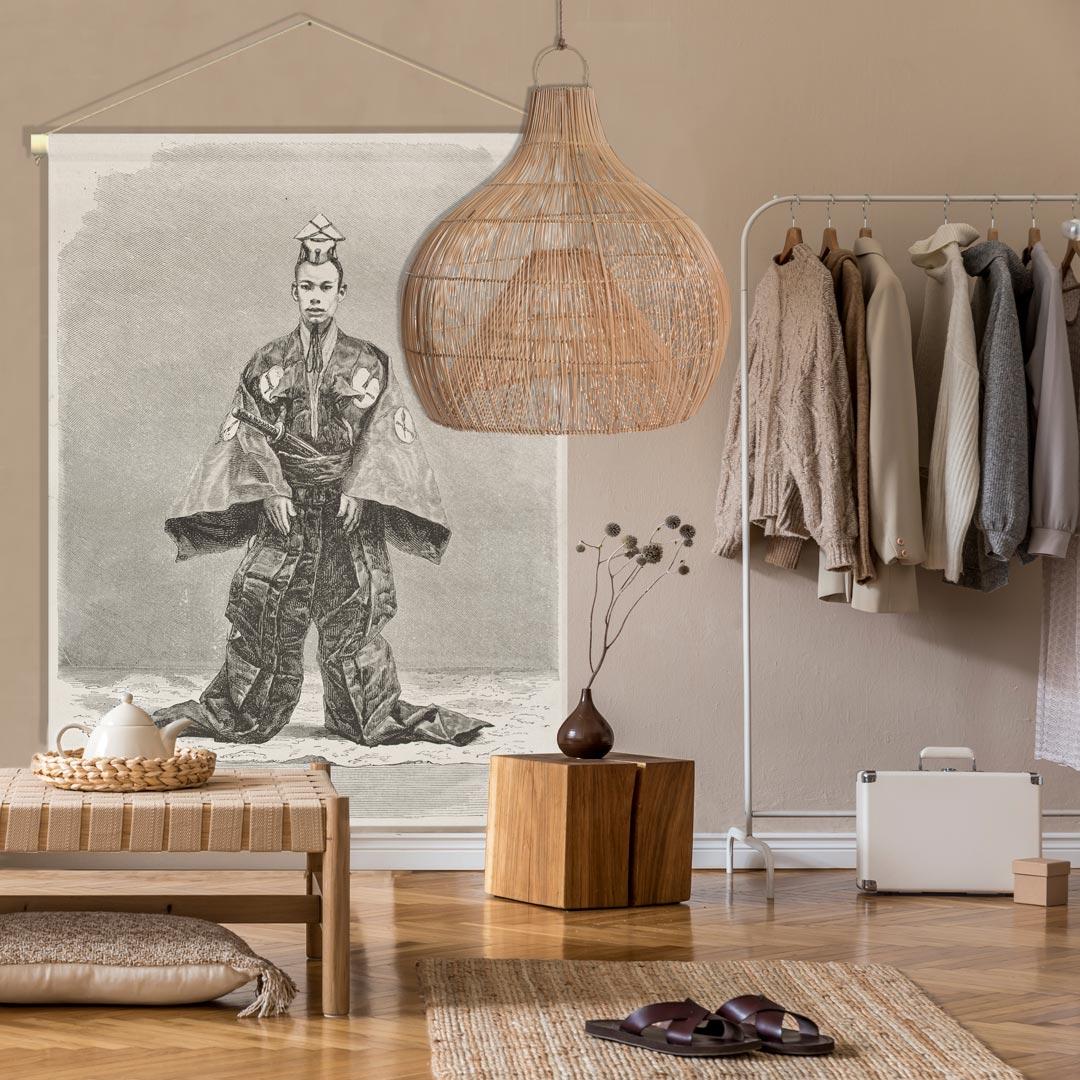 textielposter PAGODE