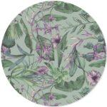 zelfklevend behang cirkel ZARITA lila