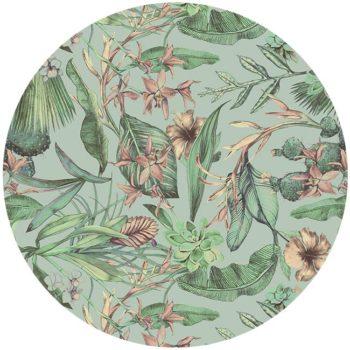 zelfklevend behang cirkel ZARITA mint