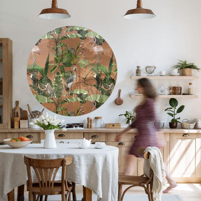 zelfklevend-behang-cirkel-ZANO zelfklevend-behang-cirkel-ZANO-terracotta-setting