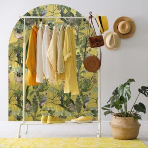behangpaneel-muurboog-BALAK-geel