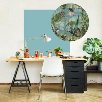zelfklevend-behang-ZERO en behangpanelen BERND-aqua