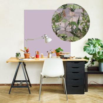 zelfklevend-behang-ZERO en behangpanelen BERND-lila