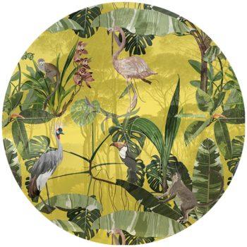 zelfklevend-behang-cirkel-ZANO-geel