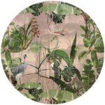 zelfklevend behang cirkel ZANO roze